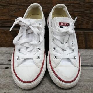 CONVERSE - converse コンバース スニーカー 靴 キッズ 18cm 白 ホワイト