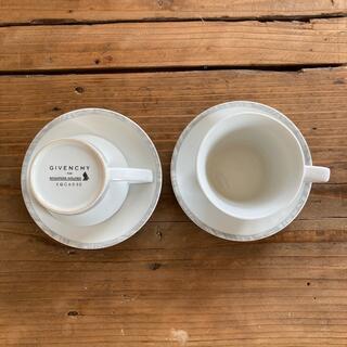 GIVENCHY - ジバンシー コーヒーカップ&ソーサー