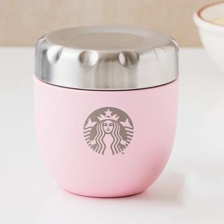 Starbucks Coffee - スターバックス さくら ステンレス フード 保温コンテナ 保温ジャー スタバ