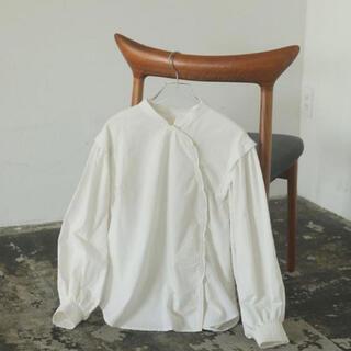TODAYFUL - todayful Cotton Asymmetry Shirts 今季完売新品