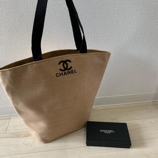 CHANEL - CHANEL ノベルティ トートバッグ 手持ち 黒