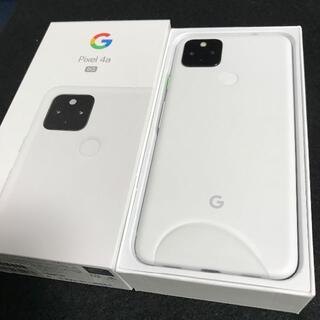 Google Pixel - 【新品/未使用/SIMフリー】Google Pixel4a 5G★一括購入★②