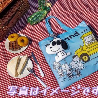 ニコアンド(niko and...)の香港のセブンイレブンとniko and...コラボスヌーピーエコバッグ☆箱なし(エコバッグ)