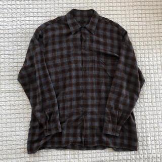 COMOLI - COMOLI レーヨンオープンカラーシャツ
