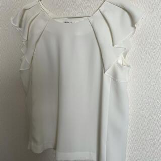 エムプルミエ(M-premier)のMプルミエブラック トップス(カットソー(半袖/袖なし))