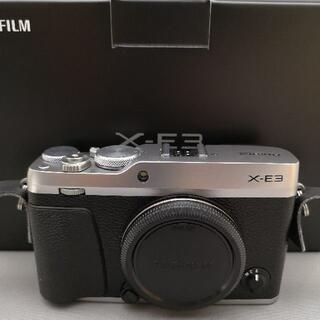 富士フイルム - FUJIFILM X-E3 ボディ + XF 18mm F2 レンズ