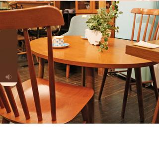 unico - unico 丸テーブル 椅子✖︎2