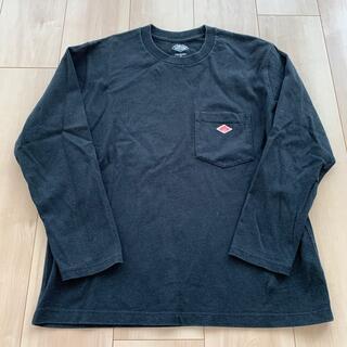 ダントン(DANTON)のダントン  長袖Tシャツ 36 ブラック(Tシャツ(長袖/七分))