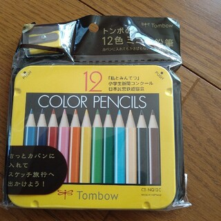トンボエンピツ(トンボ鉛筆)のトンボ ミニ色鉛筆 12色(色鉛筆)