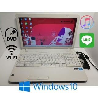 東芝 - 使えるWin10 大容量HDD 15.6型無線Wifiアプリ多数