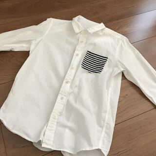 GU - GU 男の子 白シャツ 150