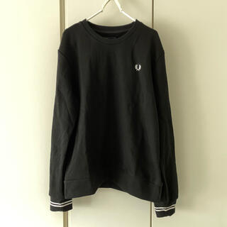FRED PERRY - 新品 Fred Perry スウェット ブラック Lサイズ