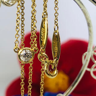 Tiffany & Co. - ティファニーバイザヤード  AU750 ネックレス