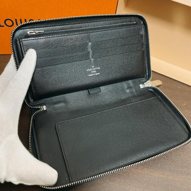 LOUIS VUITTON(ルイヴィトン)の超美品 ルイヴィトン ダミエ グラフィット オーガナイザー N63077 メンズのファッション小物(長財布)の商品写真