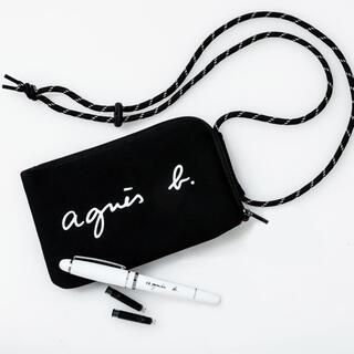 agnes b. - agnes b. ミニショルダーバッグ ブラック 新品未使用品