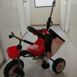 アイデス(ides)のアイデスides 子供折り畳み三輪車(三輪車)