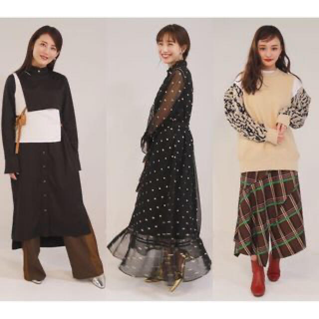 Ameri VINTAGE(アメリヴィンテージ)の新品!Ameri VINTAGE SPARKLE DOT DRESS(M) レディースのワンピース(ロングワンピース/マキシワンピース)の商品写真