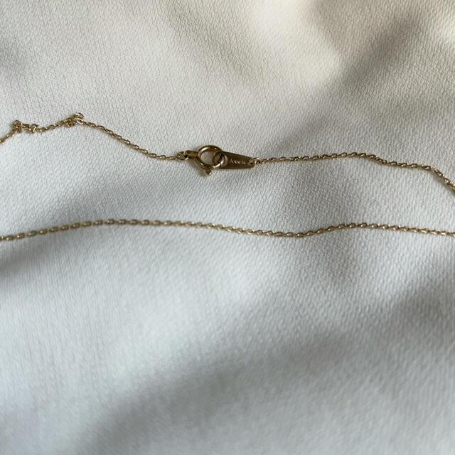 ete(エテ)のjouete 10k ホースシューモチーフダイヤネックレス レディースのアクセサリー(ネックレス)の商品写真