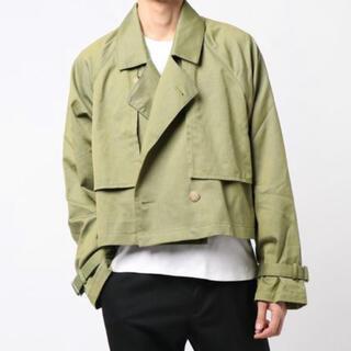 ジエダ(Jieda)のJieda ジエダ short trench jacket ショートトレンチ(ブルゾン)