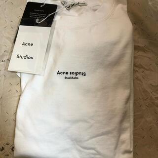ACNE - Acne Studious Logo t-shirt white Tシャツ