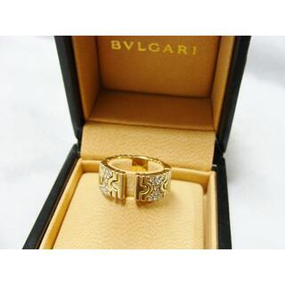 ブルガリ(BVLGARI)のブルガリK18YG750イエローゴールド金パレンテシダイヤモンドリング指輪(リング(指輪))