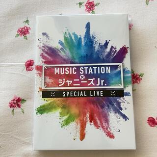 ジャニーズジュニア(ジャニーズJr.)の新品 MUSIC STATION ジャニーズJr. DVD 受注生産 Mステ(アイドル)