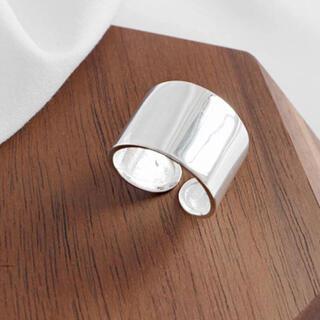 TODAYFUL - シルバーリング 指輪 シンプルデザイン オープンリング 新品