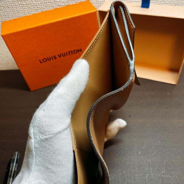 LOUIS VUITTON(ルイヴィトン)の新品同様 ルイヴィトン ポルトフォイユ・ドゥブルVコンパクト セサミ レディースのファッション小物(財布)の商品写真
