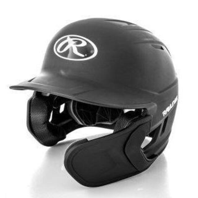 Rawlings(ローリングス)のアメリカ国内限定☆ローリングスMach☆MLB☆ツヤ消しヘルメット右打☆LXL スポーツ/アウトドアの野球(防具)の商品写真