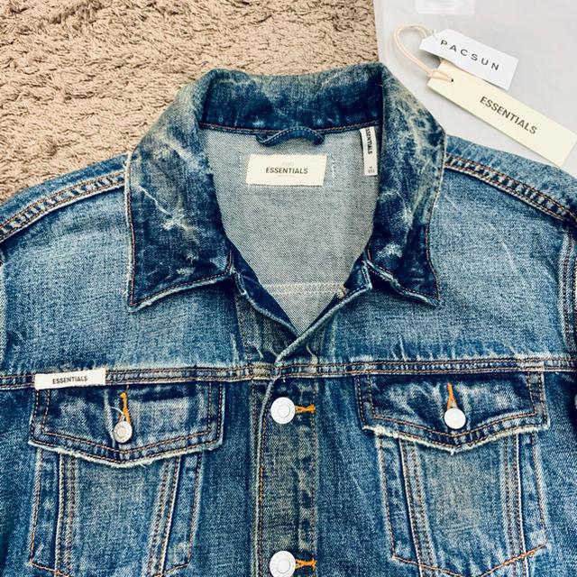 FEAR OF GOD(フィアオブゴッド)のFOG ESSENTIALS Fear of God Gジャン デニムジャケット メンズのジャケット/アウター(Gジャン/デニムジャケット)の商品写真
