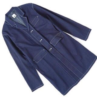 IDEE -  POOL (IDEE)いろいろの服 ジャパンデニムアトリエコート  デニム地