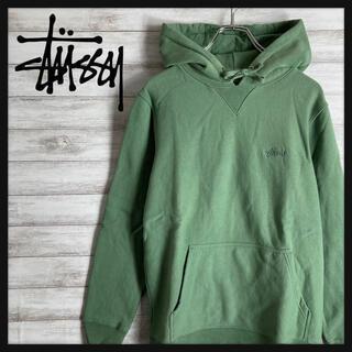 STUSSY - 【刺繍ロゴ】ステューシー 刺繍ロゴ  パーカー 人気カラー