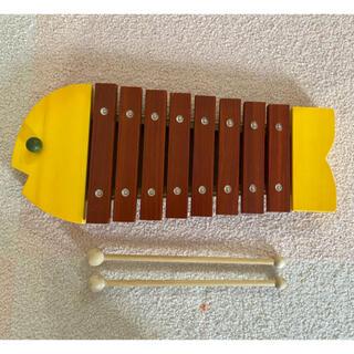 ボーネルンド(BorneLund)のボーネルンド BorneLund おさかなシロフォン 木琴 知育玩具(楽器のおもちゃ)
