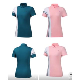 ルコックスポルティフ(le coq sportif)のルコック ゴルフレディース 韓国シャツ新品、正規、タグ付き(ウエア)