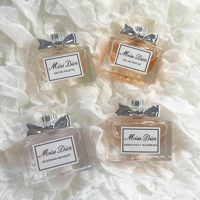 Dior(ディオール)のDior ミニ香水 4つセット コスメ/美容の香水(香水(女性用))の商品写真