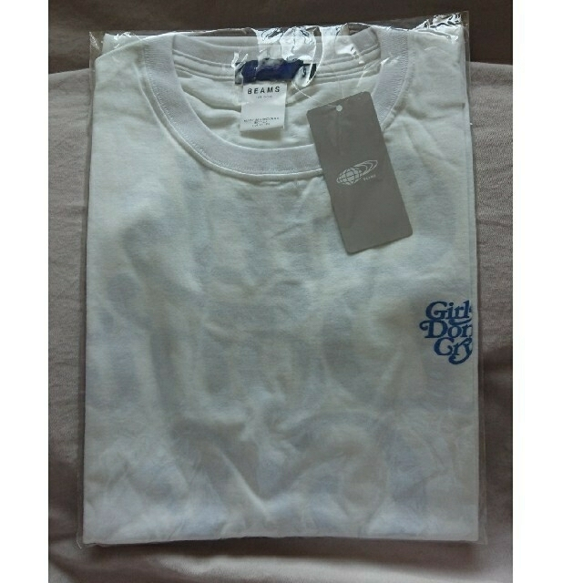 GDC(ジーディーシー)のgirls don't cry beams Tee 新品未開封  メンズのトップス(Tシャツ/カットソー(半袖/袖なし))の商品写真