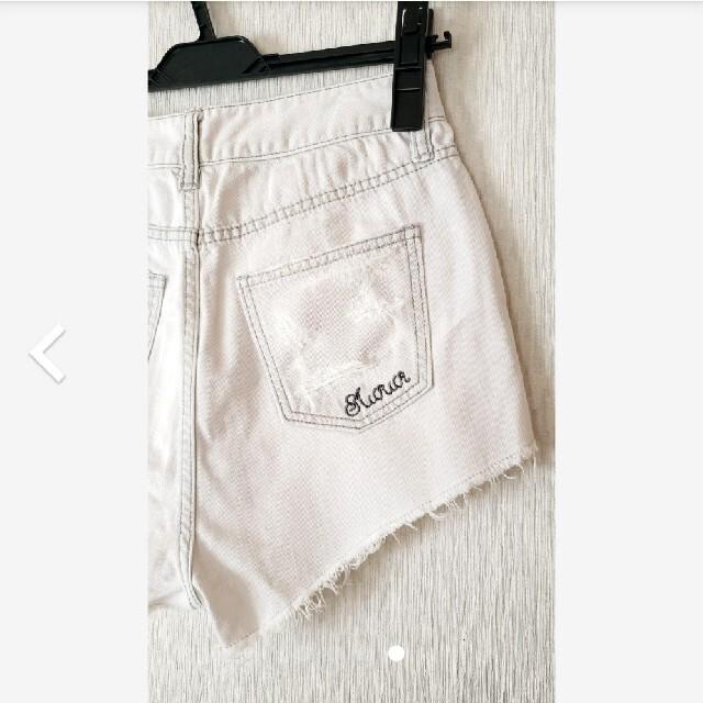 MURUA(ムルーア)のムルーア ハイウエストショートパンツ レディースのパンツ(ショートパンツ)の商品写真