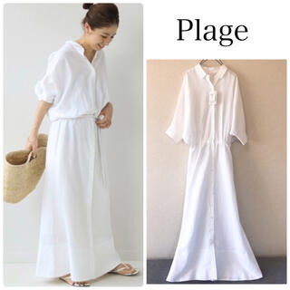Plage - Plage semi flare H/S ワンピース new2◆