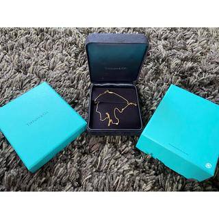Tiffany & Co. - ティファニーバイザヤード 18金ダイヤネックレス