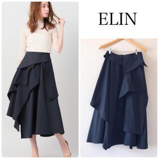Noble - 【ELIN】 Asymmetry wrap スカート