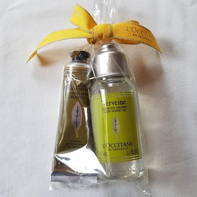 L'OCCITANE(ロクシタン)のロクシタン・ヴァーベナ ハンドジェル&アイスハンドクリーム コスメ/美容のボディケア(ハンドクリーム)の商品写真