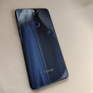 ファーウェイ(HUAWEI)のHuawei honor8 バッテリー交換済み 付属品付(携帯電話本体)