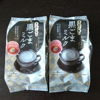 わけあり日東紅茶 黒ごまミルク  2袋(茶)