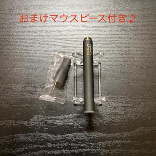 プルームテック(PloomTECH)のP1668番プルームテック 純正 バッテリー1本おまけマウスピース付きブラック(タバコグッズ)