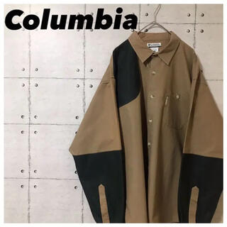 Columbia - Columbiaコロンビア•90s•ハンティングシャツ•briarshun•L