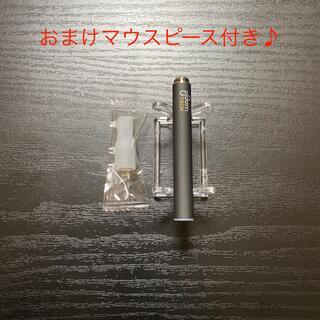 プルームテック(PloomTECH)のP1669番プルームテック 純正 バッテリー1本おまけマウスピース付きブラック(タバコグッズ)