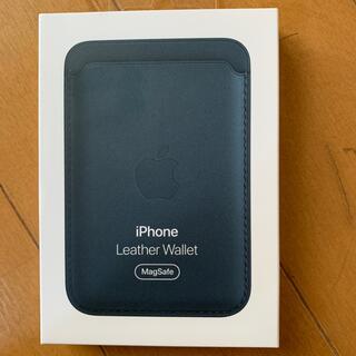 Apple - 純正品iPhone12レザーウォレット