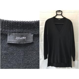 ジョゼフ(JOSEPH)のJOSEPH ジョゼフ ロング丈 Vネック セーター Mサイズ(ニット/セーター)