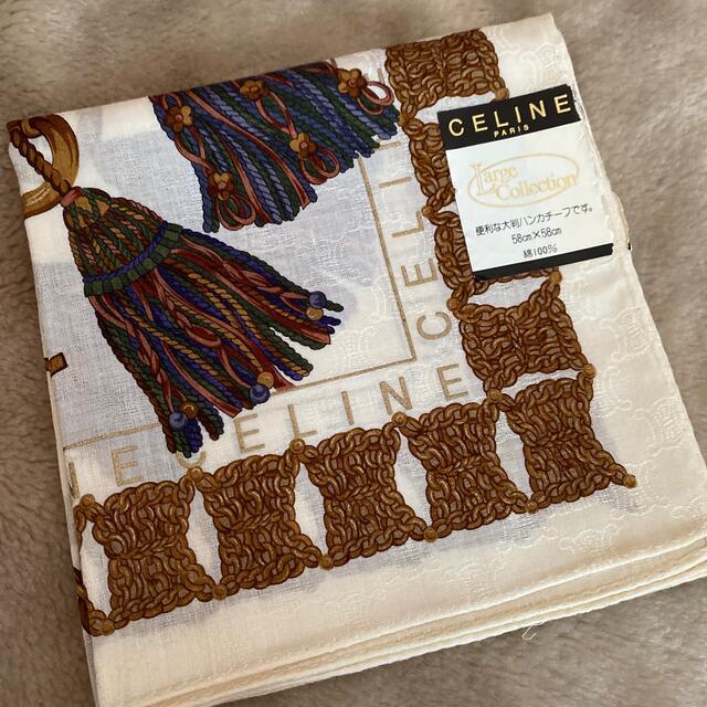 celine(セリーヌ)のセリーヌ クリスチャンディオール大判ハンカチ レディースのファッション小物(ハンカチ)の商品写真