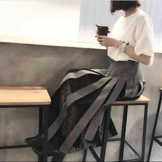 LE CIEL BLEU - 完売☆IRENE Woven Check Skirt